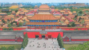 Forbidden City Beijing - Illustration by Jonathan Chapman