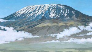 Kilimanjaro Tanzania - Illustration by Jonathan Chapman