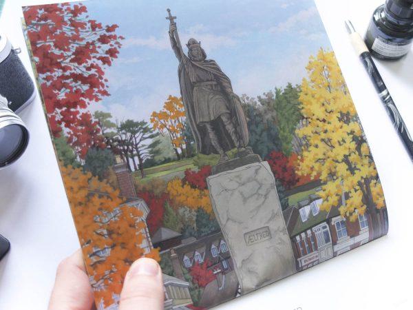 Winchester Calendar 2019 - Illustration by Jonathan Chapman