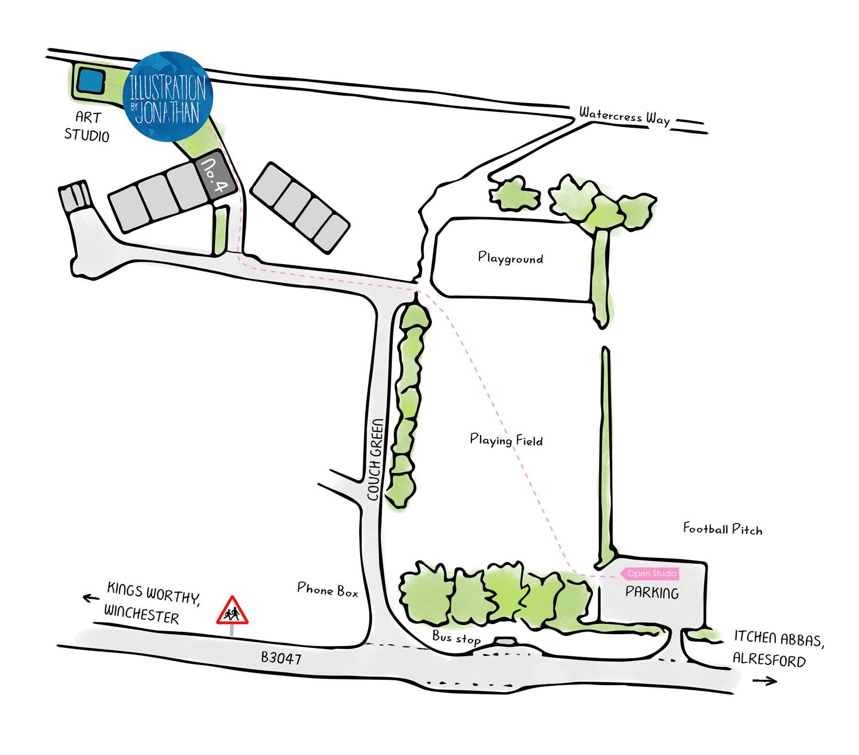 Open Studios Parking Information
