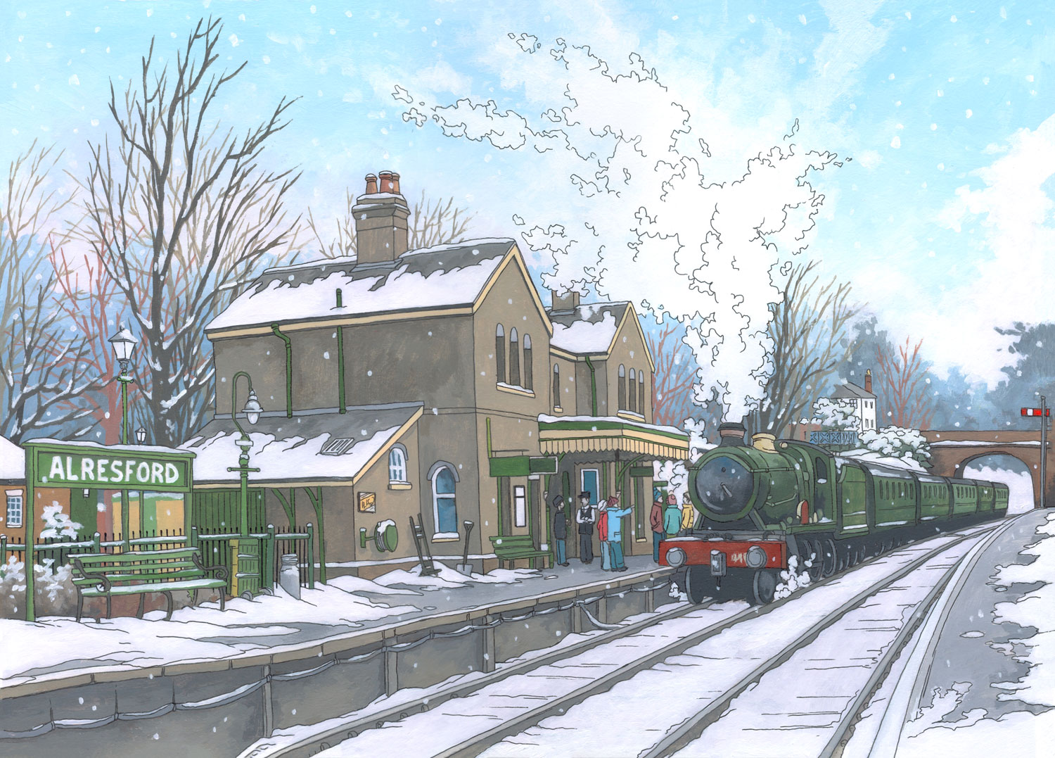 Alresford-Steam-Engine-Illustration-by-Jonathan-Chapman