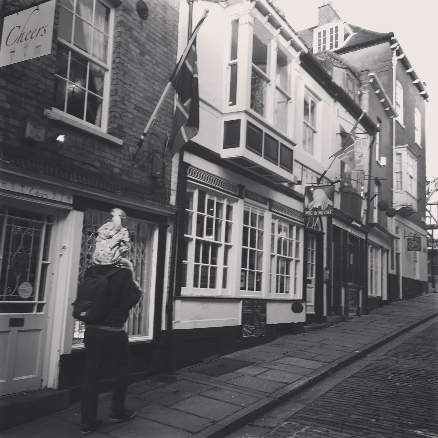 Steep Hill - Photograph by Nicky Chapman
