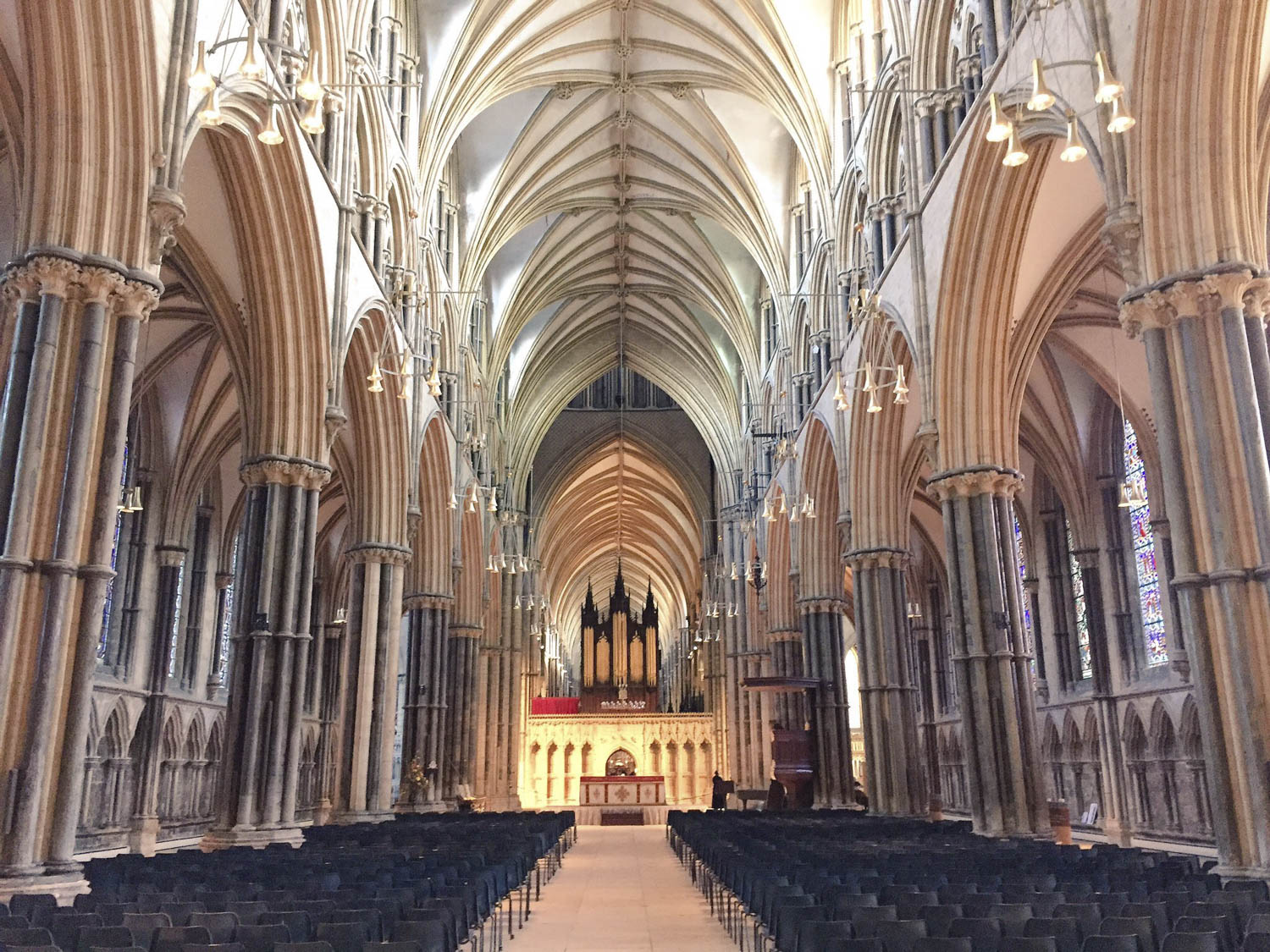Lincoln Cathedral - Photograph by Jonathan Chapman