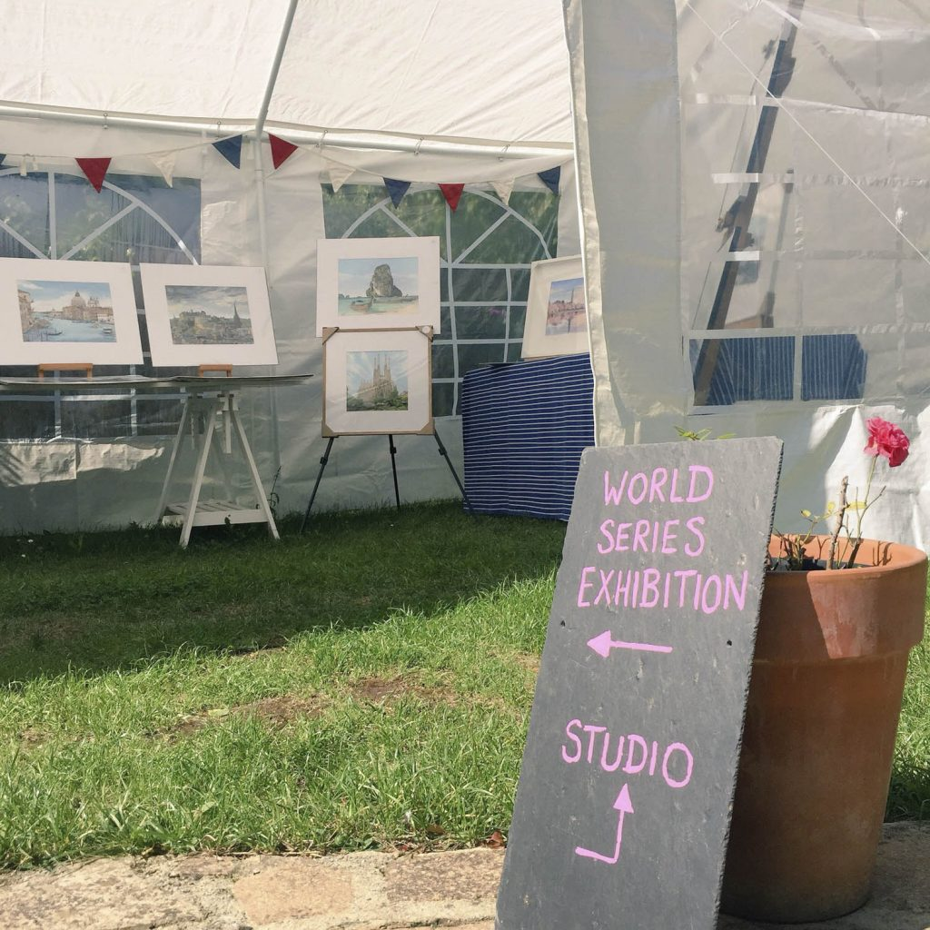 Our First Open Studios - Illustration by Jonathan Chapman