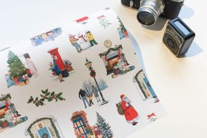 Christmas Wrapping Paper Design