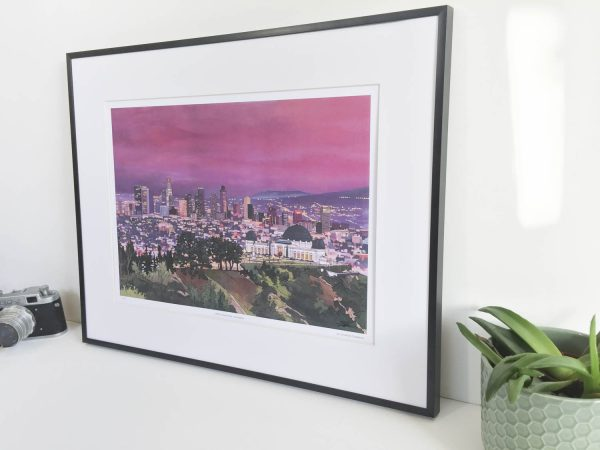 Griffith Observatory Limited Edition Print