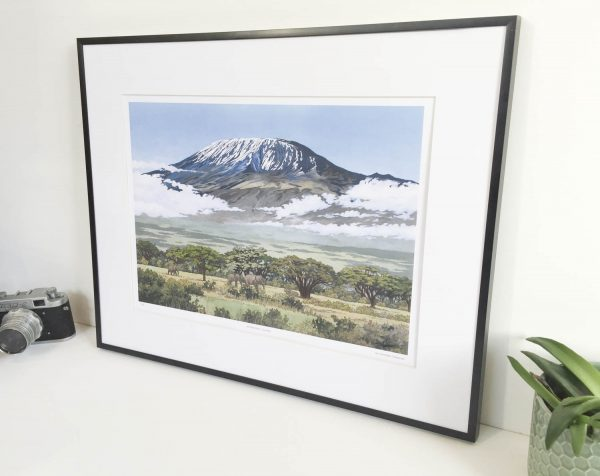 Mt Kilimanjaro Limited Edition Print