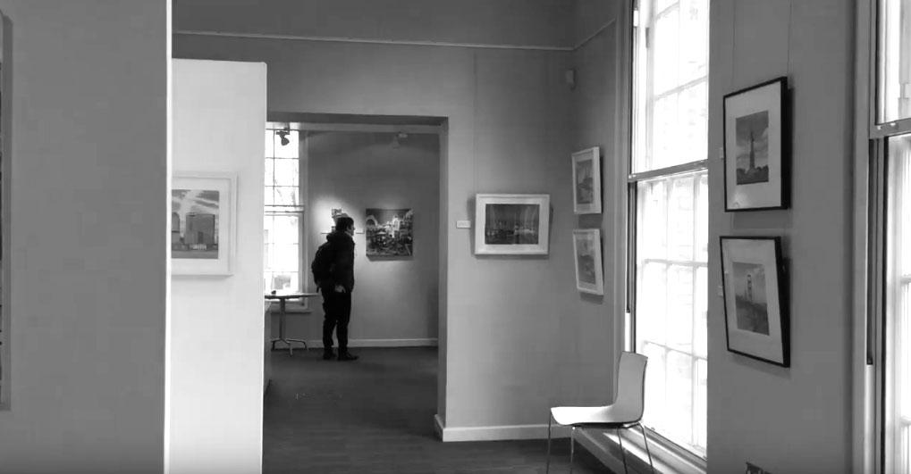 Jonathan Chapman: Painted Cities - Exhibition Walkthrough