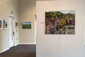 Painted Cities – Exhibition Walkthrough