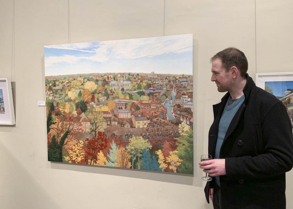 Painted Cities opens at Winchester Discovery Centre - Jonathan Chapman