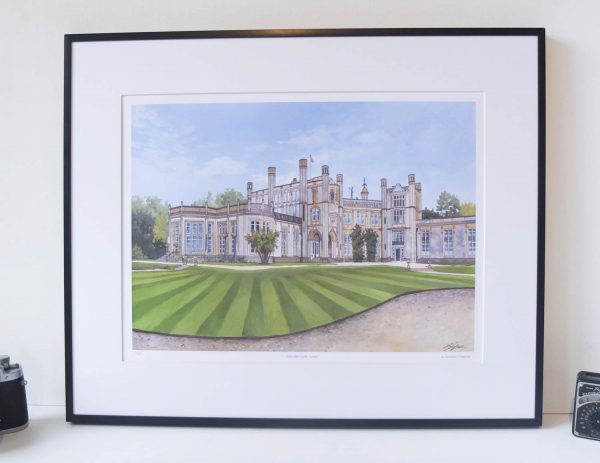Highcliffe Castle Limited Edition Print - Illustration by Jonathan Chapman
