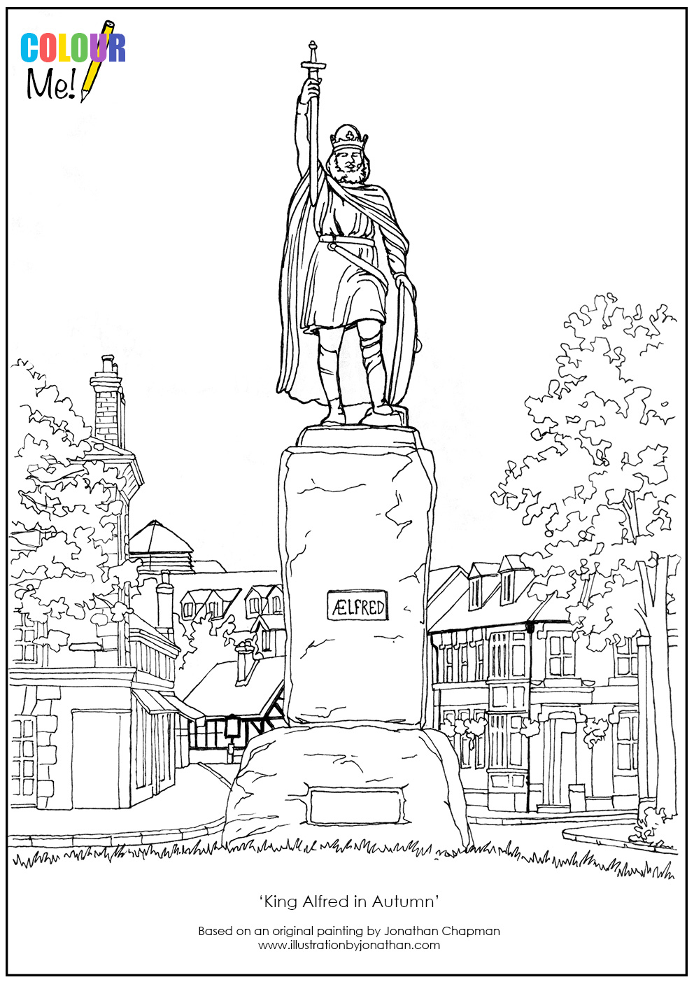 Winchester Colouring Pages