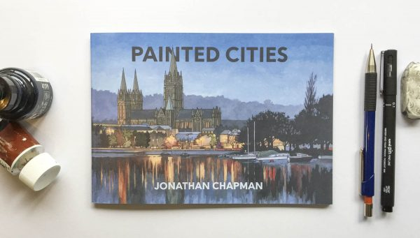 Painted Cities Book - Illustration by Jonathan Chapman