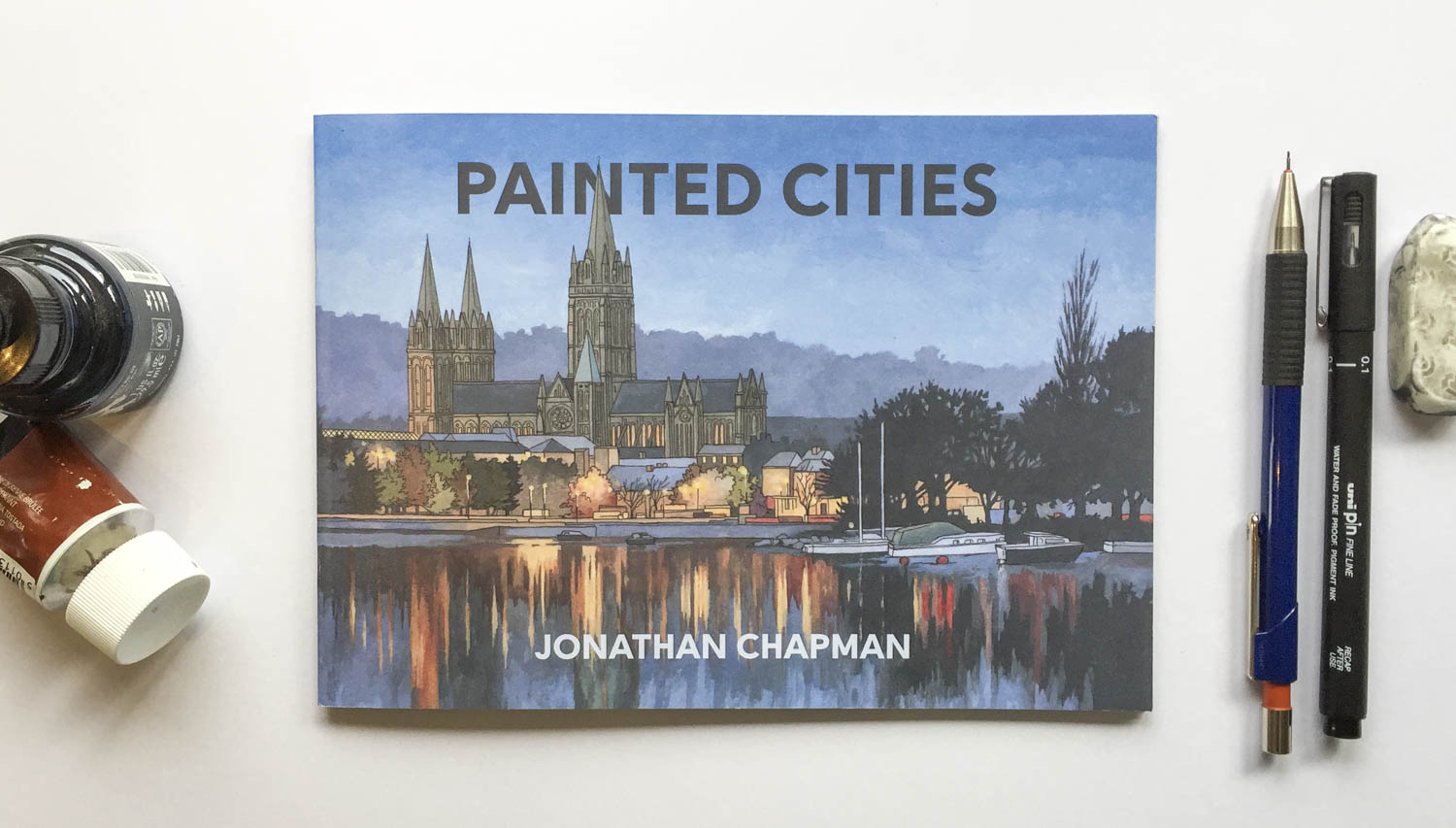 Painted Cities Book – Illustration by Jonathan Chapman-2