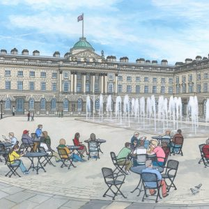 Somerset House in Summer