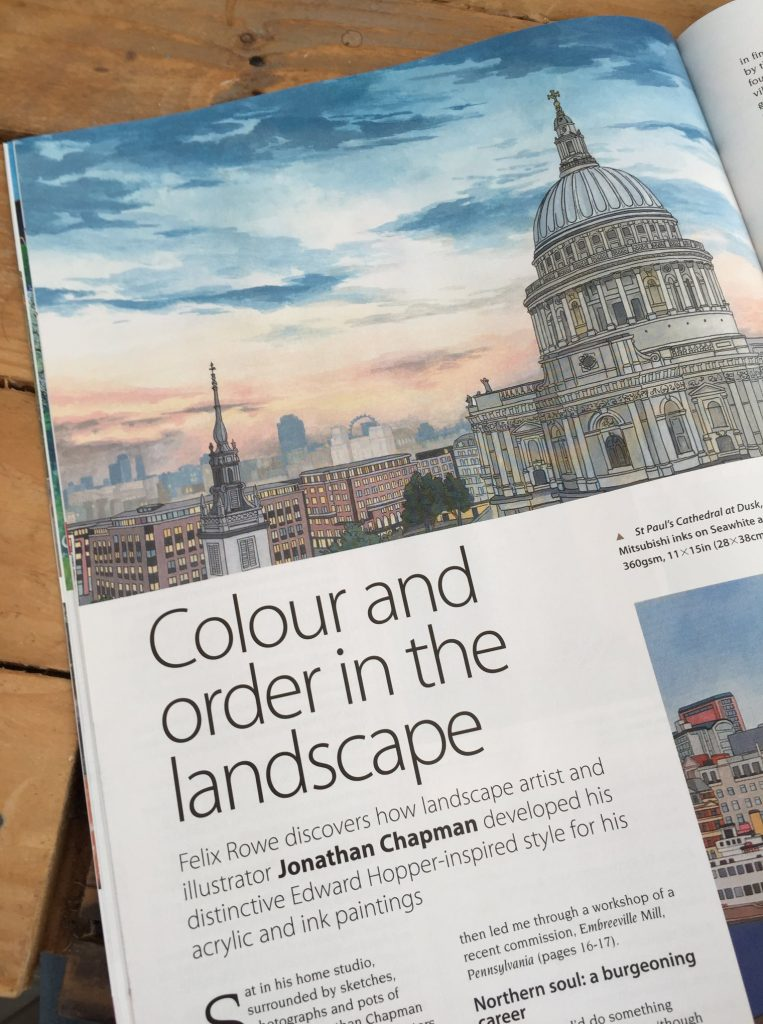 The Artist Magazine - Jonathan Chapman