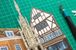 Winchester Buttercross Diorama