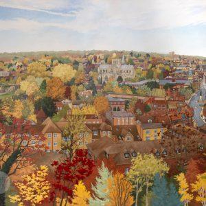 City of Winchester - Illustration by Jonathan Chapman
