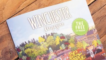 Winchester Magazine Spring Issue 2019 - Cover Illustration by Jonathan Chapman