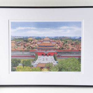 Forbidden City Beijing Limited Edition Print
