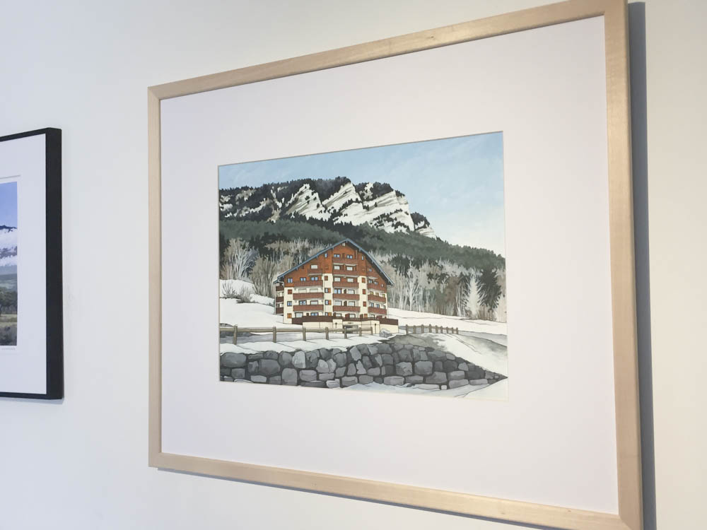 Mountainside Commission - Illustration by Jonathan Chapman