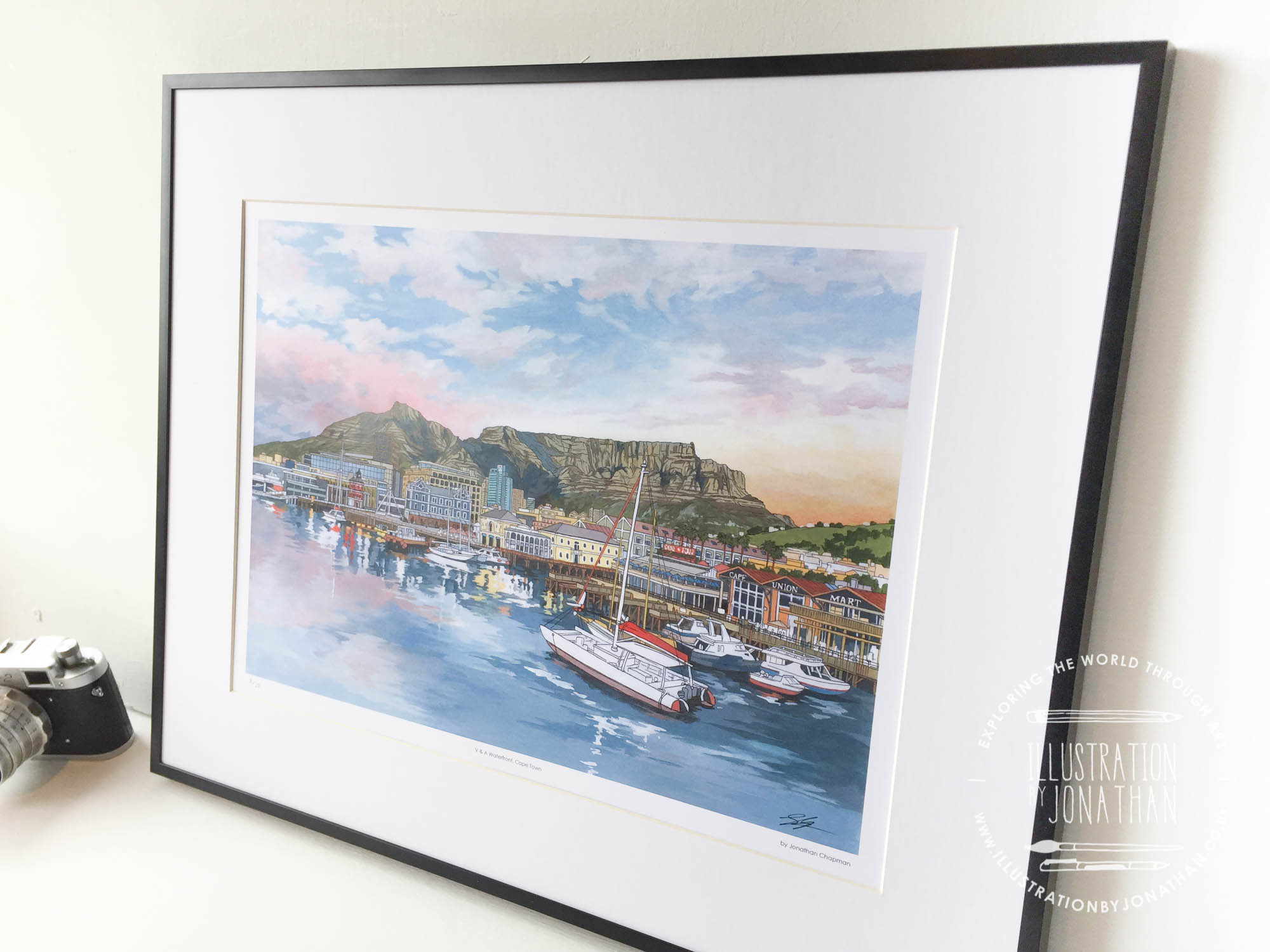V and A Waterfront Cape Town Limited Edition Print