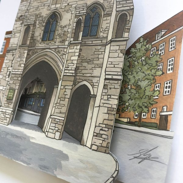 Westgate Museum - Illustration by Jonathan Chapman