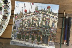 # Pub Paintings – The Churchill Arms, Kensington