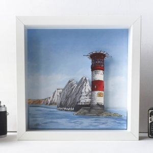 The Needles Diorama - Illustration by Jonathan Chapman
