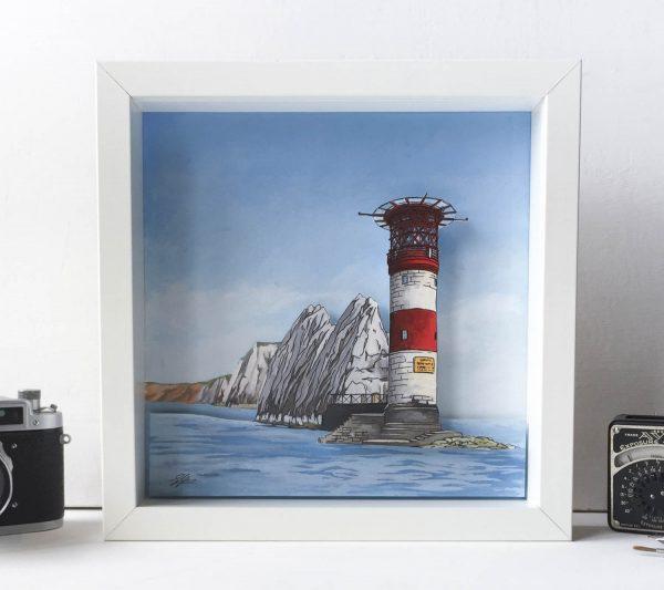 The Needles Diorama - Illustration by Jonathan Chapman