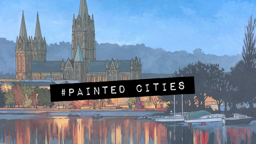 #Painted Cities