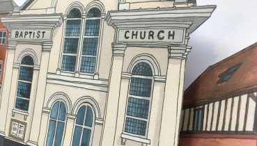 Winchester Baptist Church - Illustration by Jonathan