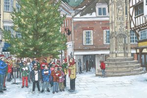 Carols Around the Christmas Tree in Winchester