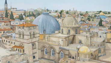 Jerusalem Commission - Original Illustration by Jonathan Chapman