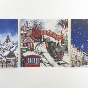 Christmas Card Bundle - Illustration by Jonathan Chapman
