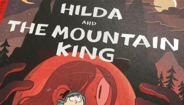 Hilda and the Mountain King - Illustration by Luke Pearson