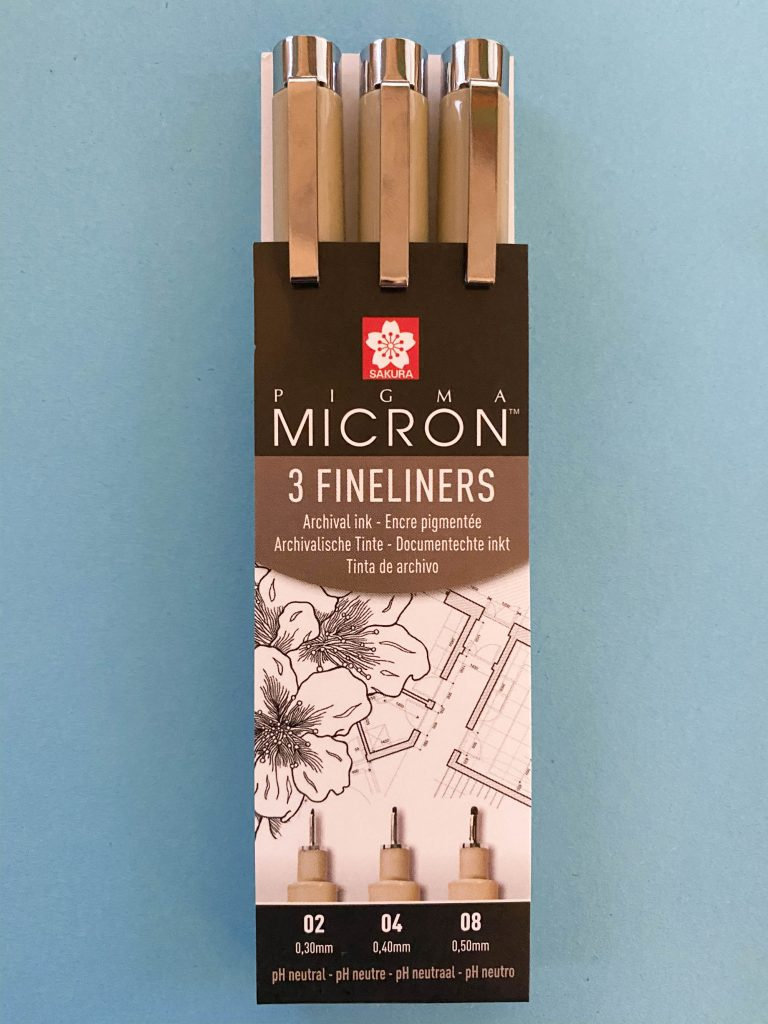 Portable Art Materials - Pigma Micron Fineliners
