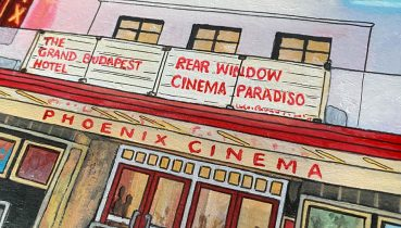 Cinema Cut Outs - Illustration by Jonathan Chapman