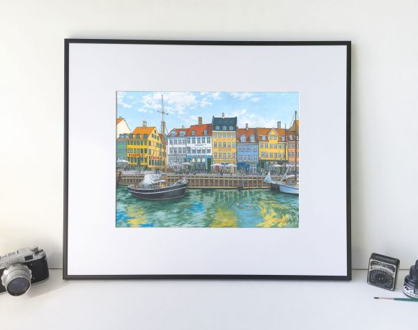 Nyhavn Copenhagen by artist Jonathan Chapman