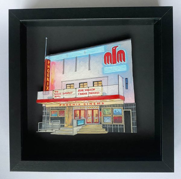 Phoenix Cinema - Illustration by Jonathan Chapman