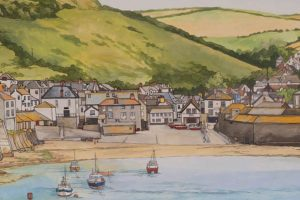 Big Port Isaac Painting