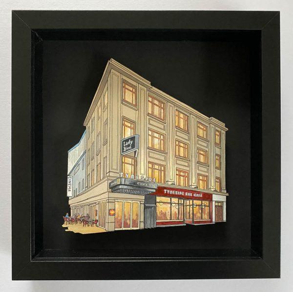 Tyneside Cinema - Illustration by Jonathan Chapman