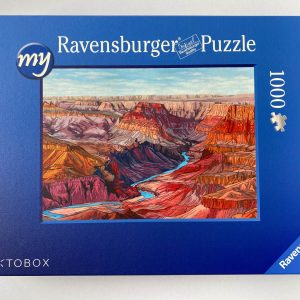New Puzzle - 1000 piece jigsaw puzzle - Illustration by Jonathan Chapman