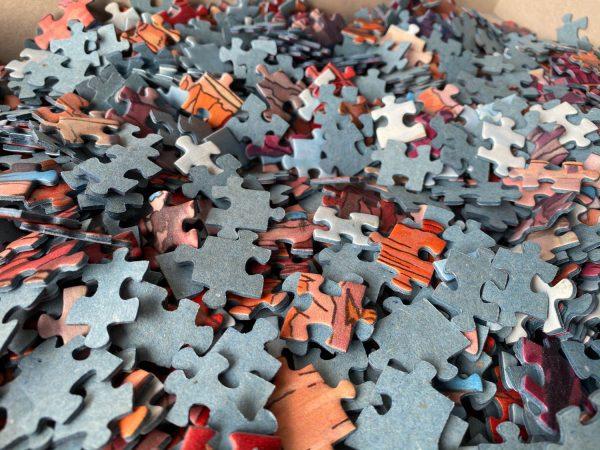 1000 piece jigsaw puzzle - Illustration by Jonathan Chapman