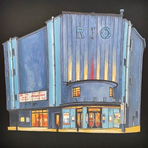 Rio Cinema London - Illustration by Jonathan-2
