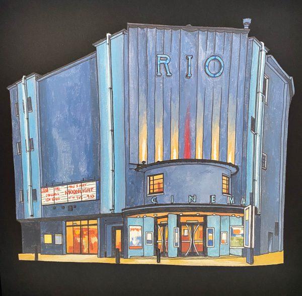 Rio Cinema London - Illustration by Jonathan-2