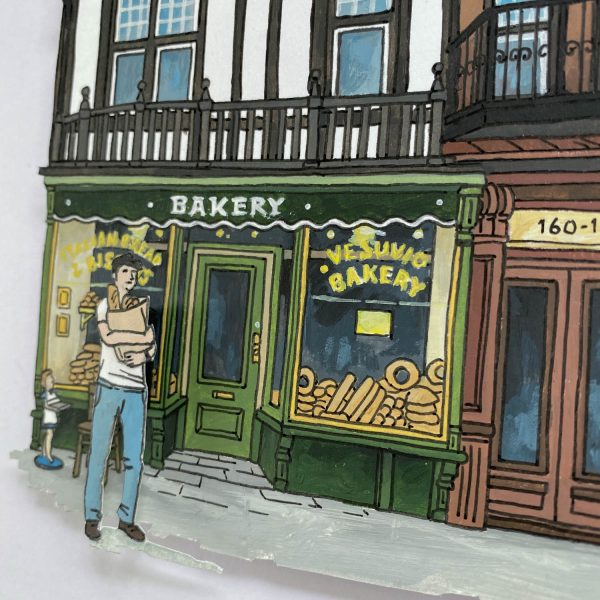 The Bakery - Illustration by Jonathan