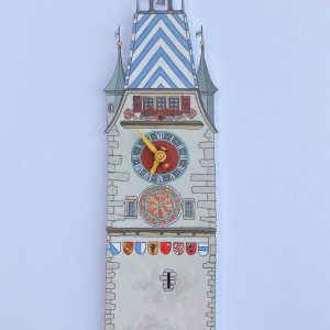 Zytturm clock - Illustration by Jonathan Chapman