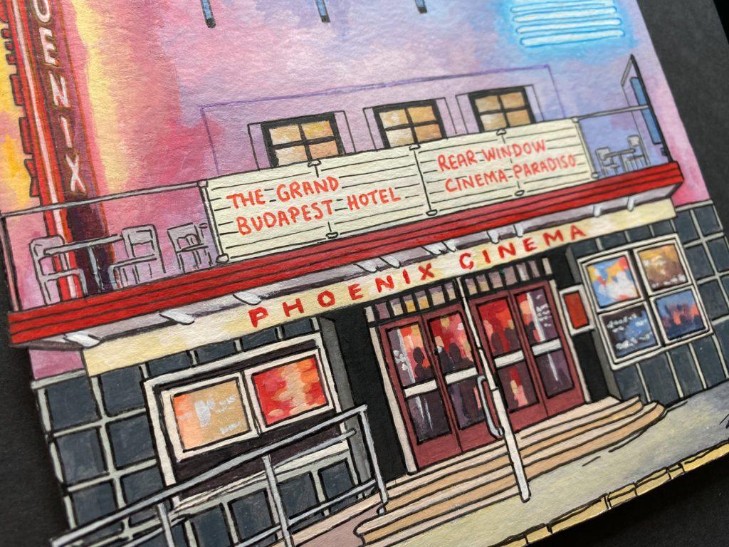 The Phoenix Cinema Commission - Illustration by Jonathan Chapman