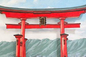 Temples & Torii Gates